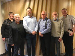 Svensk Tra, Svíþjóð_ fv.Guðrún, Tomas, Johan, Eiríkur, Jan og Hlynur
